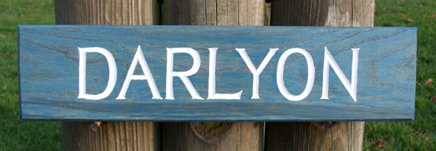 Darlyon Handmade Wooden Sign