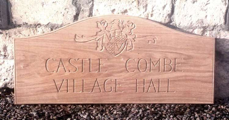 Castle Combe Handmade Sign