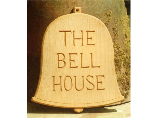 The Bell House Handmade Sign