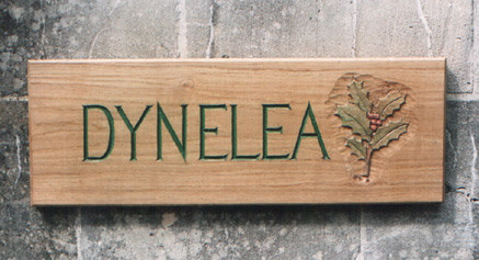 Dynelea Handmade Wooden Sign