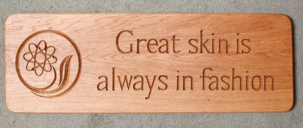 Great Skin Handmade Wooden Sign