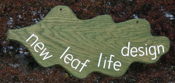 New Leaf Handmade Wooden Sign