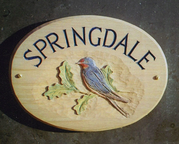 Springdale Handmade Wooden Sign