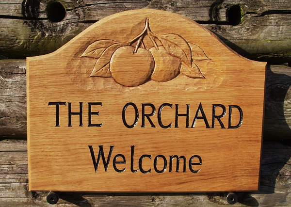 The Orchard Handmade Sign