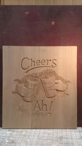 Thatchers cider wooden sign
