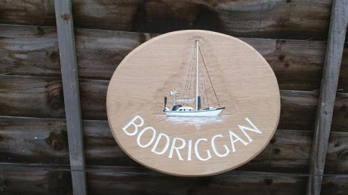 Yacht Sign Wooden Bodriggan