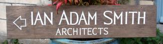 Ian Adam Smith Handmade Wooden Sign
