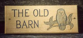 The Old Barn Handmade Sign