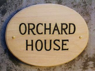 Orchard Handmade Sign