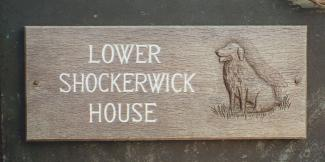Lowershockerwick Handmade Wooden Sign