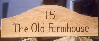 Old Farmhouse Handmade Wooden Sign