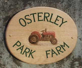 Osterley Handmade Wooden Sign