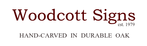 woodcott signs logo